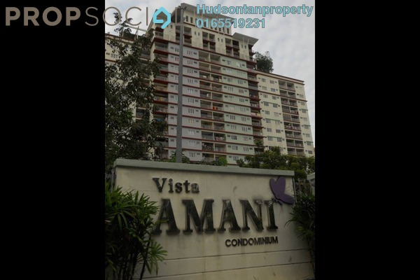 For Rent Condominium at Vista Amani, Bandar Sri Permaisuri Leasehold Unfurnished 3R/2B 1.3k