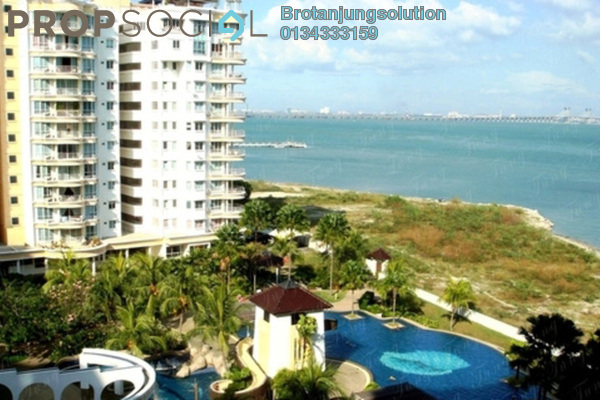 For Sale Condominium at Gold Coast, Bayan Indah Leasehold Unfurnished 3R/2B 748k