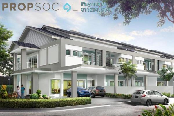 For Sale Terrace at Taman Connaught, Cheras Leasehold Unfurnished 4R/4B 540k