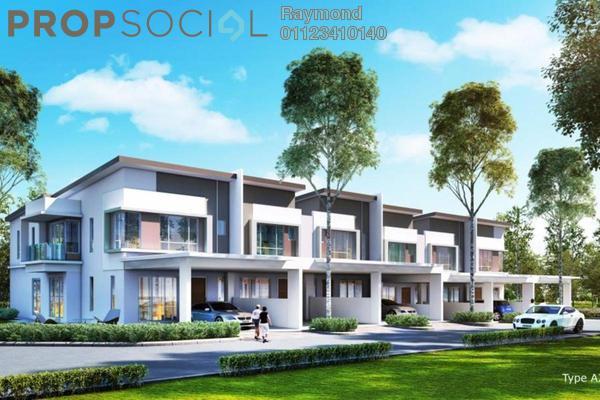 For Sale Terrace at Taman Sungai Besi Indah, Seri Kembangan Leasehold Unfurnished 4R/5B 540k