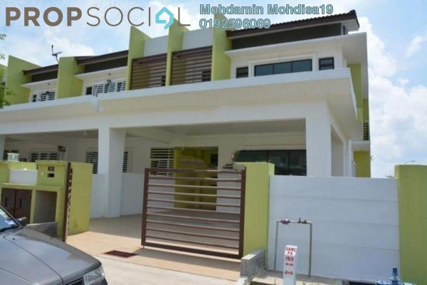 For Rent Terrace at Citra Hill 2, Mantin Freehold Semi Furnished 4R/4B 1.3k