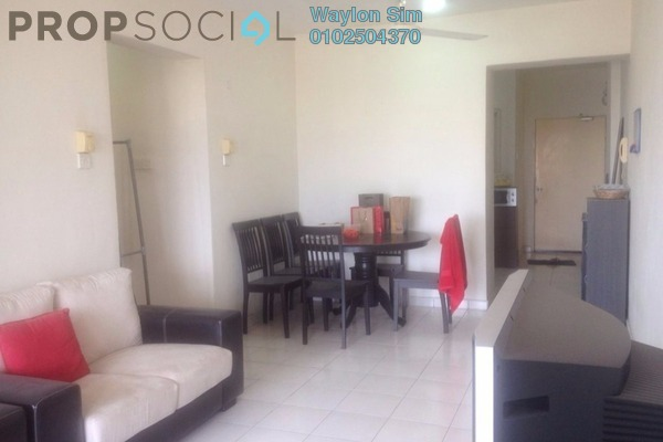 For Sale Condominium at Anjung Hijau, Bukit Jalil Freehold Fully Furnished 2R/1B 450k