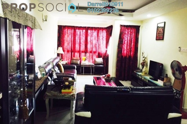 For Rent Apartment at 1Sentul, Sentul Freehold Semi Furnished 3R/2B 2k