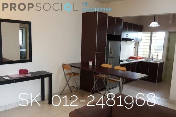 For Sale Apartment at Randa Apartment, Bukit Rimau Freehold Fully Furnished 3R/2B 340k