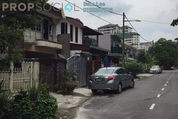 For Sale Terrace at Taman Kencana, Pandan Indah Freehold Semi Furnished 2R/2B 370k