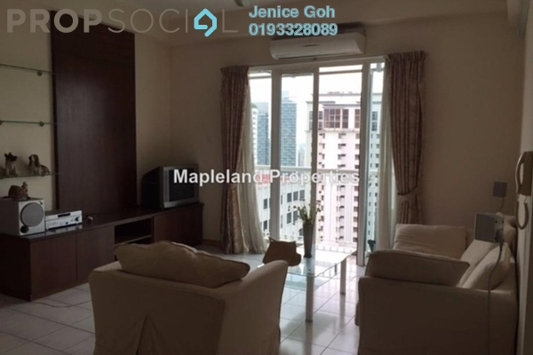 For Sale Condominium at Seri Bukit Ceylon, Bukit Ceylon Freehold Fully Furnished 2R/2B 1.1m