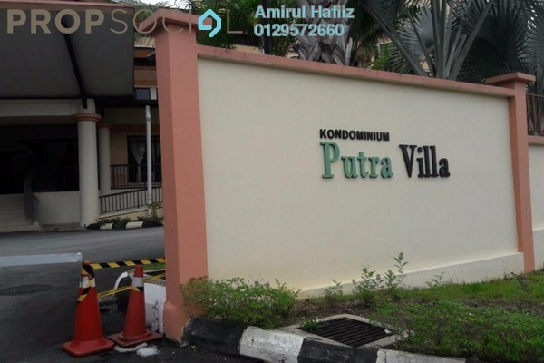 For Sale Condominium at Putra Villa, Gombak Freehold Unfurnished 3R/2B 500k