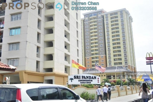 For Rent Condominium at Sri Pandan, Pandan Indah Leasehold Semi Furnished 3R/2B 1.3k