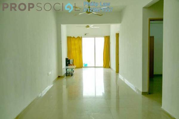 For Sale Apartment at Kepong Central Condominium, Kepong Leasehold Semi Furnished 3R/2B 300k