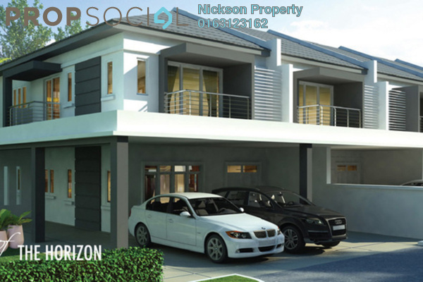 For Sale Terrace at Suriaman 3, Bandar Sri Sendayan Freehold Unfurnished 4R/3B 491k