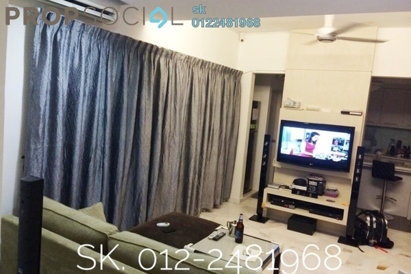 For Rent Townhouse at Kiara Green, TTDI Freehold Fully Furnished 3R/3B 3k