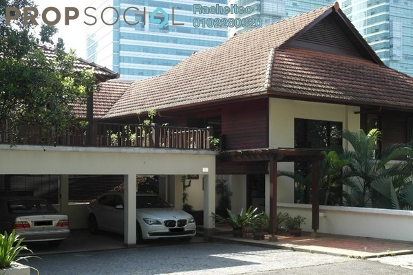 For Sale Bungalow at Sri Bukit Persekutuan, Bangsar Freehold Fully Furnished 4R/5B 8.1m