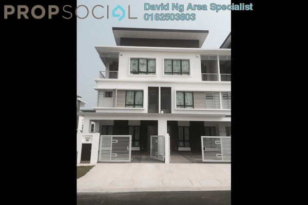 For Rent Terrace at Caffra, Setia Alam Freehold Unfurnished 5R/5B 1.5k