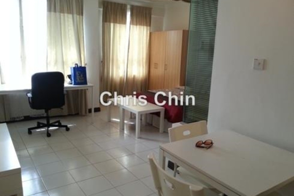 For Rent Condominium at Ritze Perdana 1, Damansara Perdana Leasehold Semi Furnished 0R/1B 1.3k