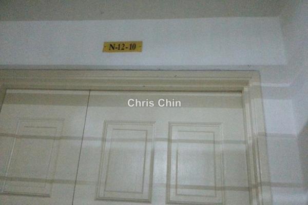 For Rent Duplex at Jati 1 Apartment, Subang Jaya Freehold Semi Furnished 3R/3B 1.5k