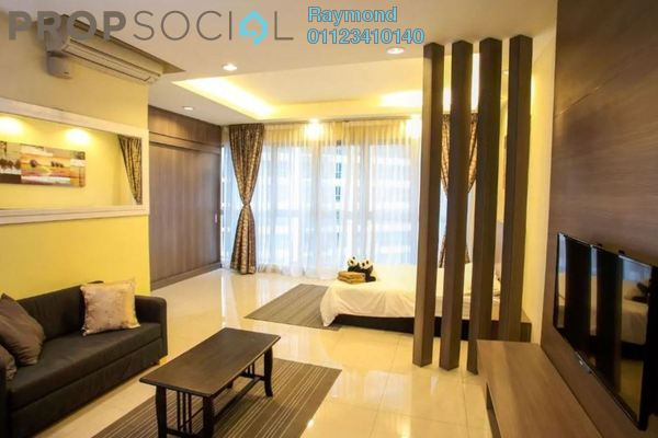 For Rent Condominium at Hyve, Cyberjaya Freehold Fully Furnished 0R/1B 1.4k
