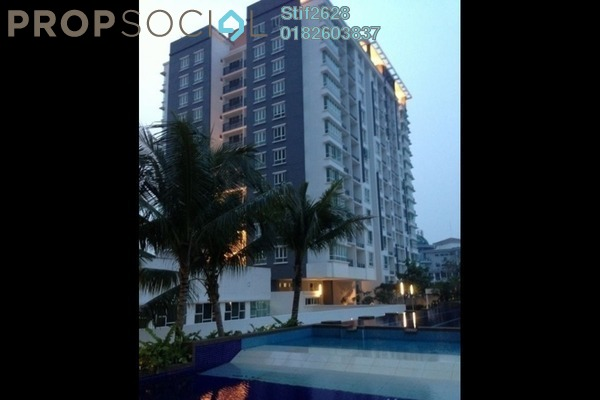 For Rent Condominium at Zenith Residences, Kelana Jaya Leasehold Semi Furnished 3R/2B 1.7k