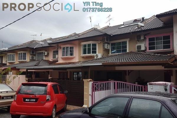 For Sale Terrace at Taman Muzaffar Heights, Ayer Keroh Freehold Semi Furnished 4R/3B 428k