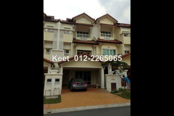 For Sale Terrace at Anjung Sari, Setia Alam Freehold Unfurnished 5R/5B 900k