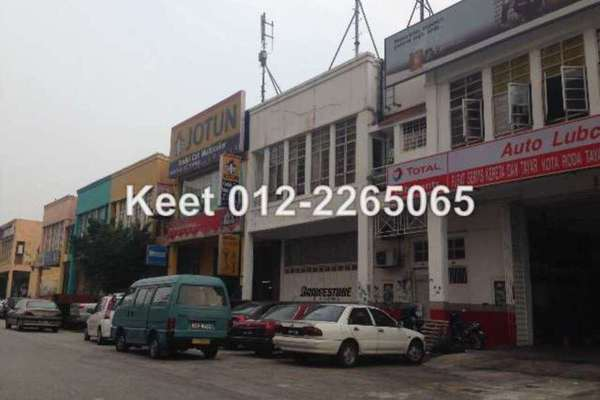 For Sale Factory at USJ 19, UEP Subang Jaya Freehold Unfurnished 0R/4B 3.8m