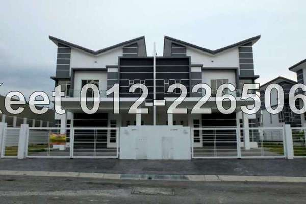 For Sale Semi-Detached at Greenhill Residence, Shah Alam Leasehold Semi Furnished 5R/6B 1.3m