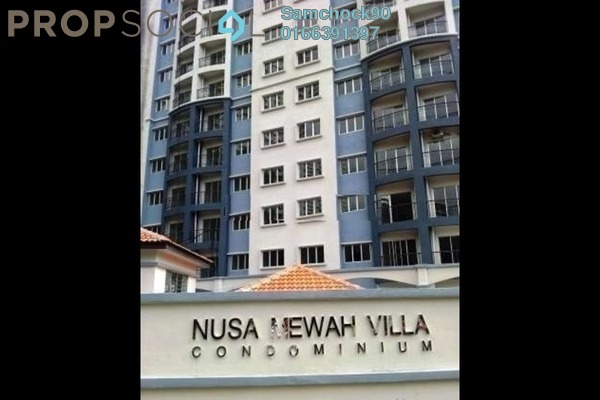 For Sale Condominium at Nusa Mewah, Cheras Leasehold Unfurnished 3R/2B 310k