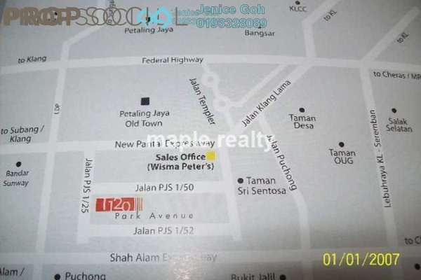 For Sale Condominium at 1120 Park Avenue, PJ South Leasehold Semi Furnished 3R/2B 530k
