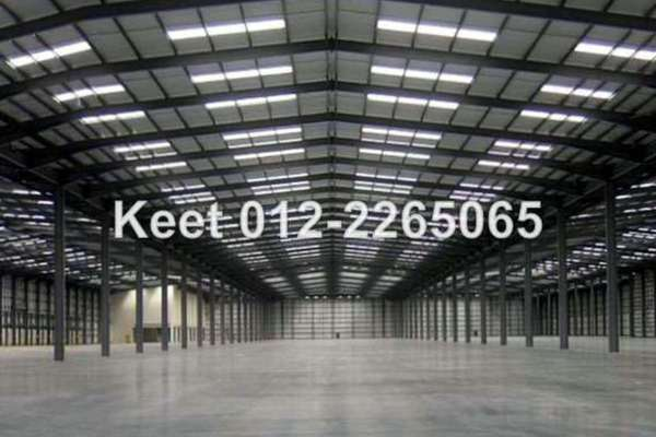 For Rent Factory at Subang Industrial Park, Subang Freehold Semi Furnished 0R/8B 40.8k