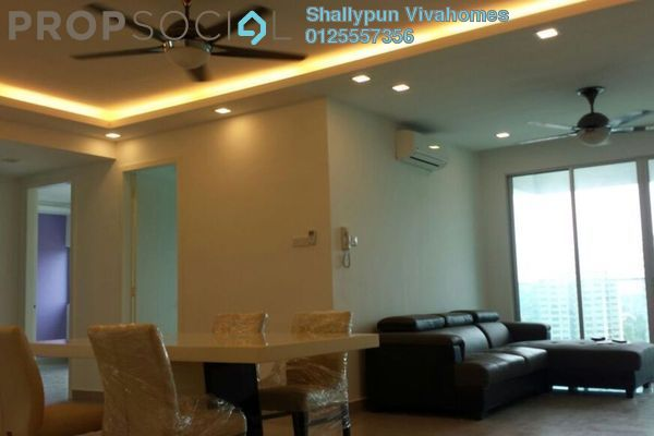 For Rent Condominium at Kiara Residence 2, Bukit Jalil Leasehold Fully Furnished 4R/3B 2.4k