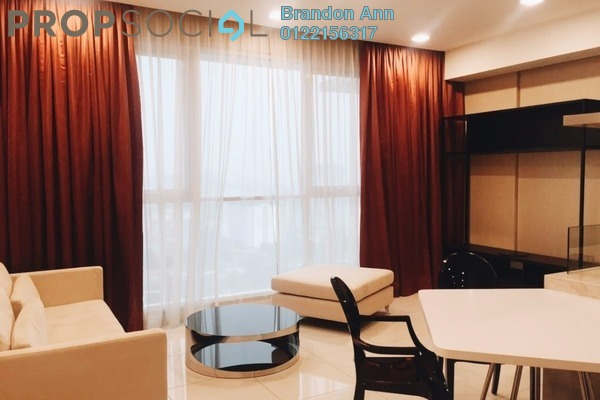 For Sale Condominium at Uptown Residences, Damansara Utama Freehold Fully Furnished 1R/2B 960k