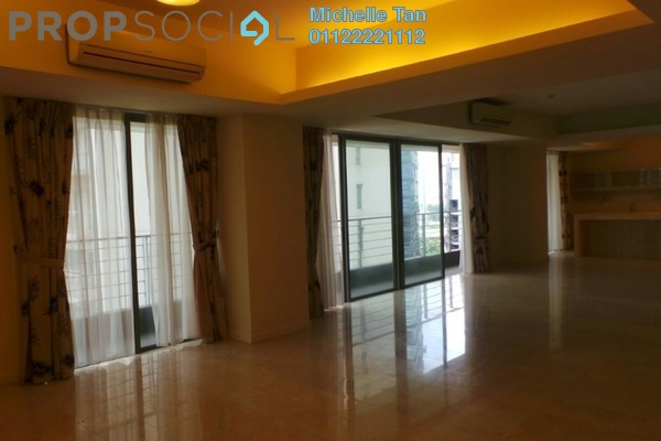 For Rent Condominium at 2 Hampshire, KLCC Freehold Semi Furnished 3R/5B 8k