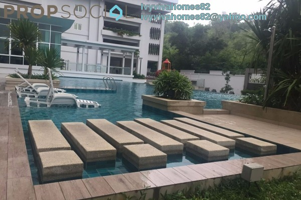 For Rent Condominium at Rimba Residensi, Seremban 2 Freehold Semi Furnished 4R/3B 1.8k