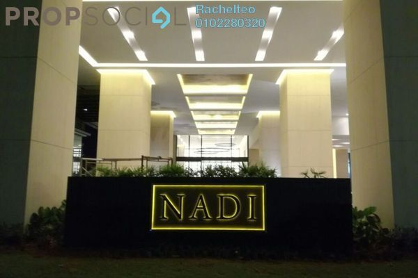 For Sale Condominium at Nadi Bangsar, Bangsar Freehold Semi Furnished 1R/1B 620k