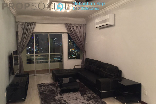 For Rent Condominium at Pantai Panorama, Pantai Freehold Fully Furnished 2R/2B 3k