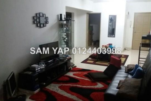 For Sale Apartment at Aliran Damai, Cheras South Leasehold Semi Furnished 3R/2B 345k