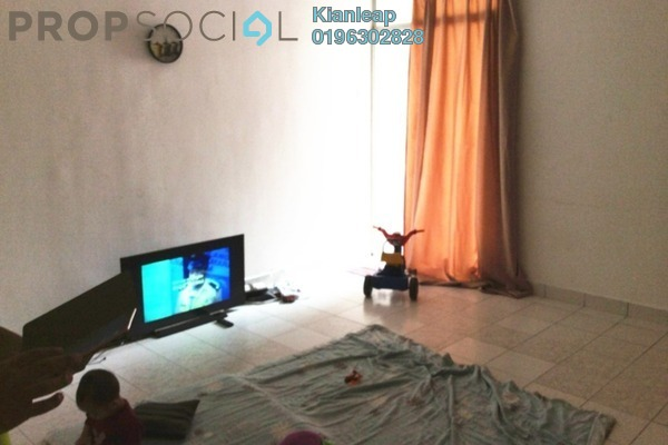 For Sale Apartment at Cheras Utama Apartment, Cheras South Leasehold Semi Furnished 3R/2B 168k