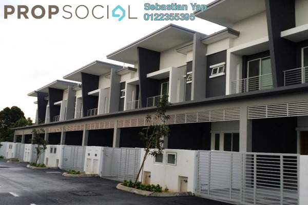 For Sale Superlink at Ridgeview Residences, Kajang Freehold Unfurnished 4R/3B 840k