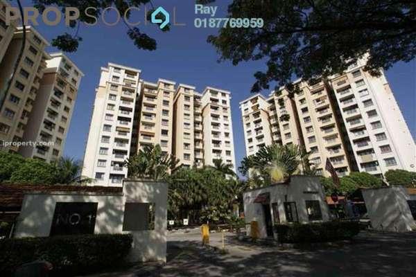 For Rent Condominium at Pelangi Condominium, Sentul Freehold Semi Furnished 3R/2B 1.65k