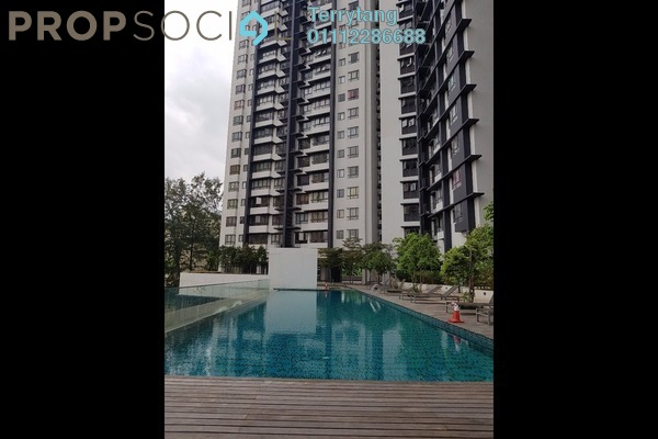 For Rent Condominium at Residence 8, Old Klang Road Freehold Semi Furnished 2R/2B 1.6k