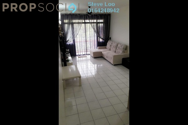For Sale Condominium at Parkview Towers, Bukit Jambul Leasehold Semi Furnished 3R/2B 465k