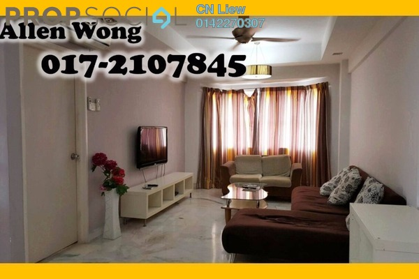 For Rent Condominium at Danau Idaman, Taman Desa Leasehold Fully Furnished 3R/2B 1.7k