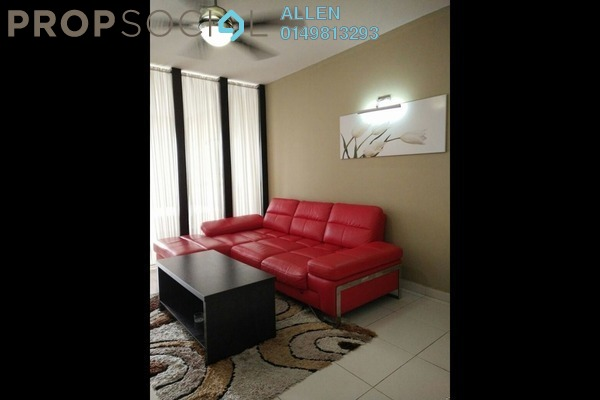 For Rent Serviced Residence at Bayu Puteri 1, Johor Bahru Leasehold Fully Furnished 0R/1B 1.6k