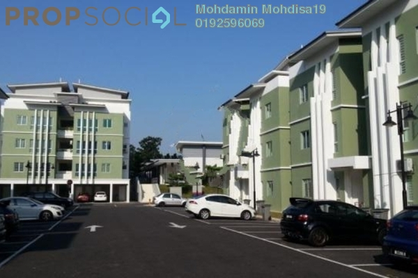 For Rent Apartment at Kiara Court, Nilai Impian Freehold Semi Furnished 3R/2B 1.3k