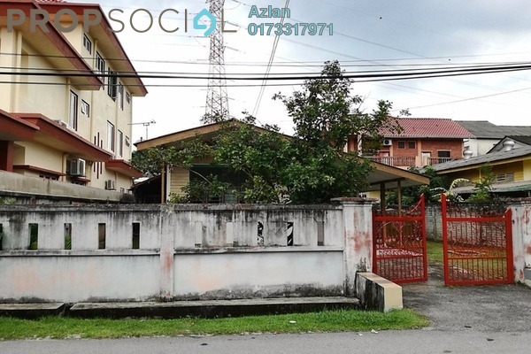 For Sale Bungalow at Taman Keramat, Setiawangsa Leasehold Unfurnished 5R/2B 750k