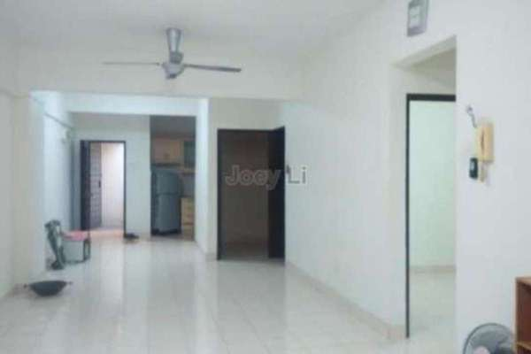 For Sale Condominium at Mandy Villa, Segambut Leasehold Fully Furnished 3R/2B 350k