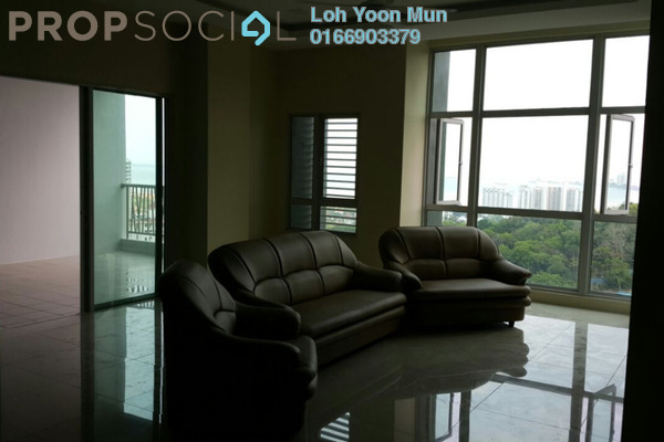 For Sale Condominium at The Peak Residences, Tanjung Tokong Freehold Semi Furnished 4R/3B 1.05m