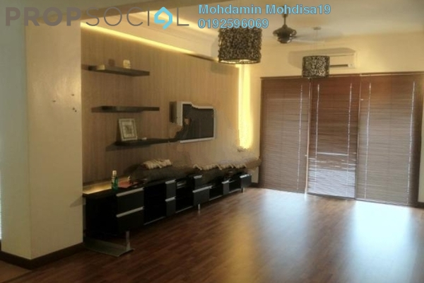 For Rent Apartment at Seremban Garden, Seremban Freehold Fully Furnished 3R/2B 1.6k