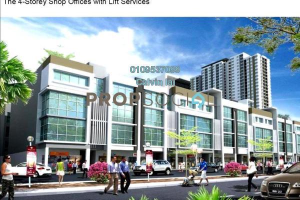 For Sale Office at Boulevard Business Park, Jalan Ipoh Freehold Unfurnished 0R/2B 888k