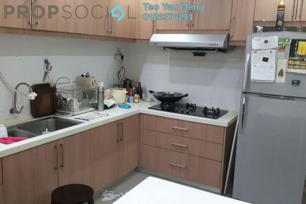 For Sale Terrace at Subang Impian, Shah Alam Freehold Semi Furnished 4R/3B 650k
