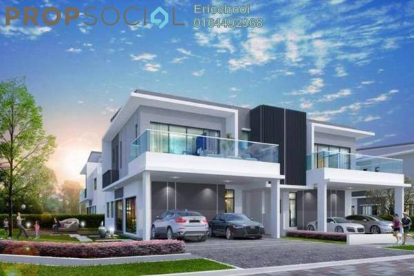 For Sale Semi-Detached at Lakeside Residences, Puchong Leasehold Unfurnished 5R/5B 1.91m